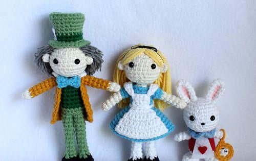 Mad Hatter Amigurumi : Mad Hatter from Alice in Wonderland - CROCHET Crochet ...