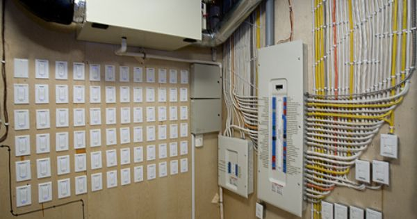 Meticulously Organized And Labeled Electrical Panels Home Construction Residential Wiring Home Upgrades