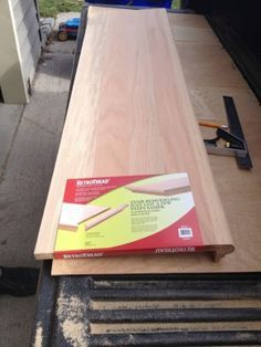 Stair Makeover These Retrotread Stair Caps At Lowe S They Re Red | Installing Hardwood Stairs Over Existing Stairs | Prefinished Stair | Stair Tread Caps | Carpeted Stairs | Wood Flooring | Treads
