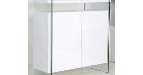 Sejour Design Complet En Laque Blanc Brillant Et Verre Trempe Spekia Salle A Manger Design Salle A Manger Complete Design