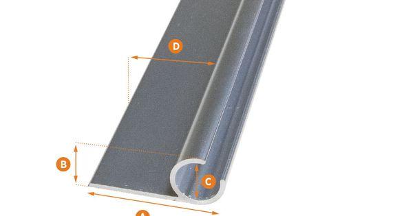 Awning Track Aluminum 48 Long Instalacion