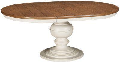 Universal Summer Hill 2 Universal Summer Hill 2 Table Jordan S Furniture Dining Table Farmhouse Round Dining Table Table