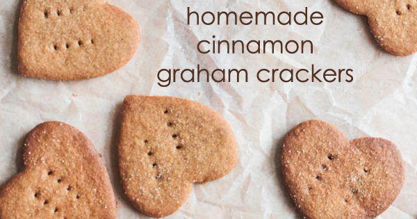 Homemade Cinnamon Graham Crackers | Recipe | Graham Crackers, Cinnamon ...