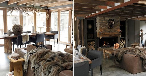 Fall Into Winter Rustic Dutch Home Design Architecture Design Interiors Pinterest Home Design Winter And Designs