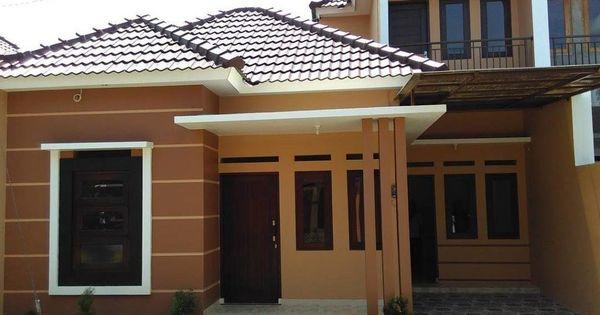 Gambar Rumah Warna Coklat Susu - Desain Rumah