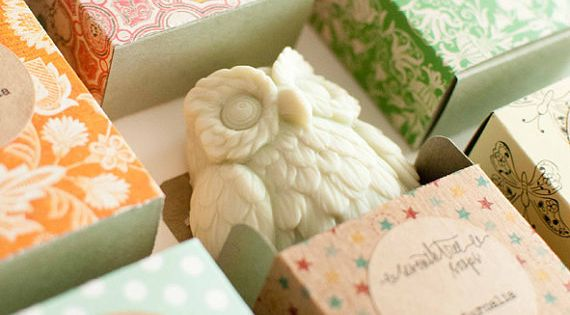 Wedding Gift Ideas Vegan : ... wedding: owl-shaped vegan soaps. Etsy Weddings Pinterest Vegan