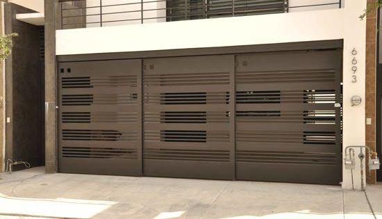 Porton herreria portones pinterest puertas - Porton de garaje ...