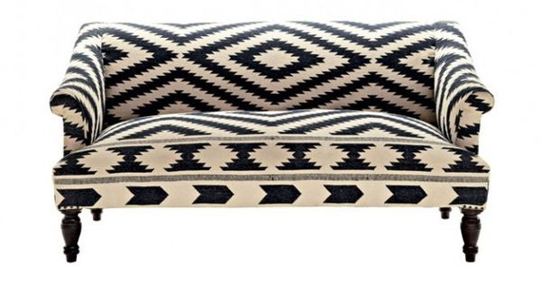 black white kilim canap tissus ethniques pinterest canap s deco ethnique et ethnique. Black Bedroom Furniture Sets. Home Design Ideas