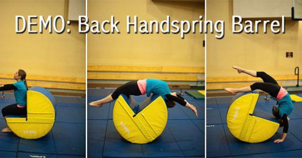 Back Handspring Barrel Aka The Pacman Back Handspring Usa