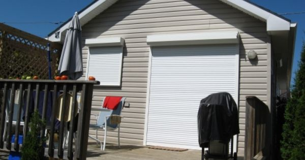 Roll shutters for keeping cottage cool in summer the home home plans board pinterest - The rolling shutter home in bohemia ...