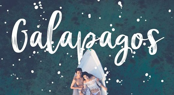 Galapagos Script – hand written dry brush script and roughen script