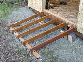 Storage Shed Ramps Ideas For The House Shed Ramp Diy