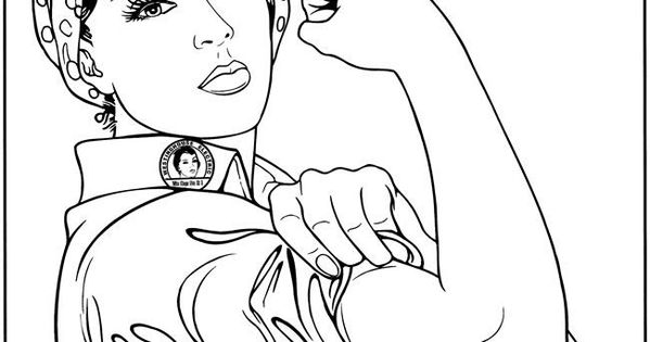 everythings rosie coloring book pages | Coloring page | Rosie the Riveter (• ჴ •)ᕗ | Pinterest ...