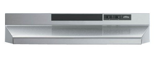 Broan F402404 Two Speed Four Way Convertible Range Hood 24 Inch Stainless Steel 2016 Amazon Most Gifted Range H Ducted Range Hood Broan Stainless Range Hood