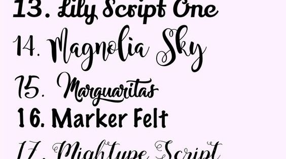 30 awesome free fonts for creatives