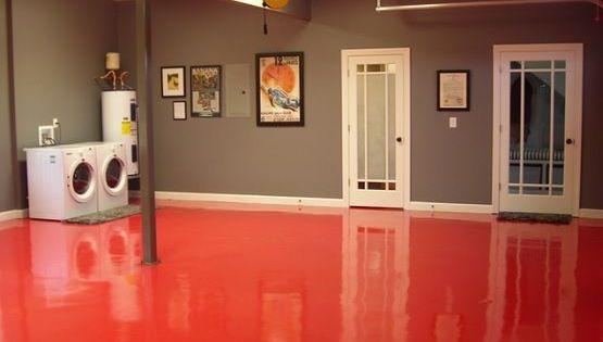 Choose The Right Basement Flooring Painting Basement Floors Concrete Basement Floors Painted Cement Floors
