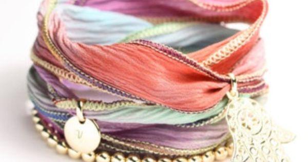 arm candy-- ribbon bracelets