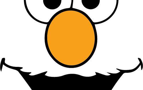 Elmo Face Craft