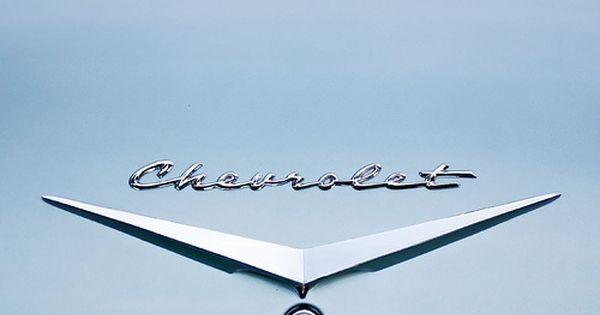 Chevrolet Car Emblem 1950s Car Logos Chrome Cars Car Make Logos