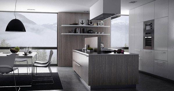 Modern grey kitchen design kitchen pinterest grey