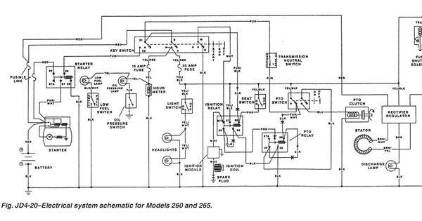 Electrical Diagram For John Deere Z445