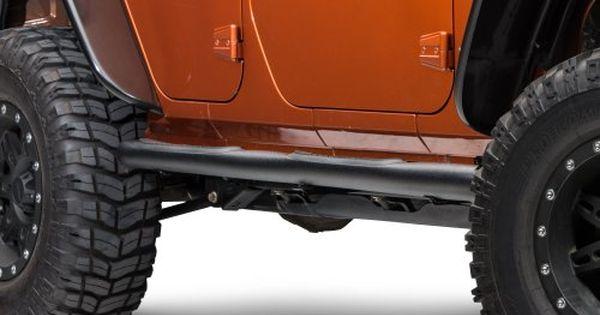 Red Rock 4 4 J100177 3in Side Step Textured Black Wrangler Jk