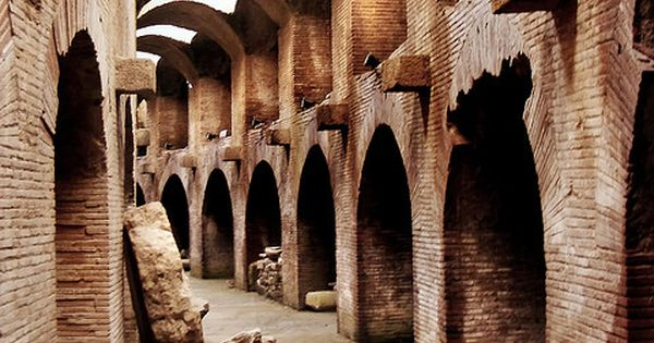 PATH OF THE GLADIATOR * Underground of the Flavian Amphitheater in Pozzuoli