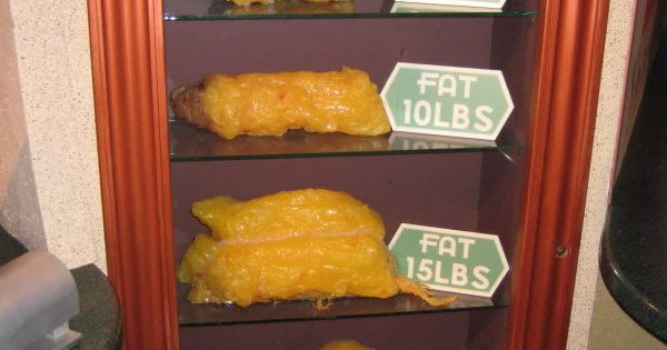 HOW MUCH FAT ARE YOU CARRYING AROUND? This puts it all in