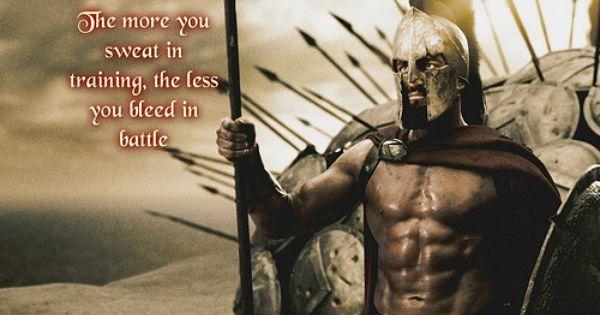 Spartan Training 300 Workout Gym Jones Spartan Warrior
