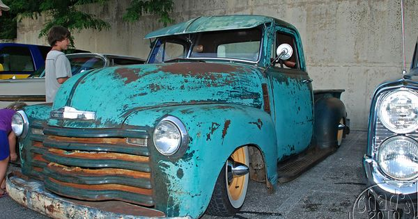 Patina Chevy Truck