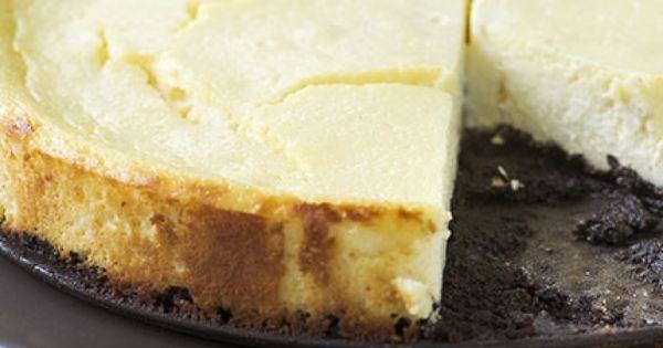 تشيز كيك اوريو مخبوز Desserts Cheesecake Food