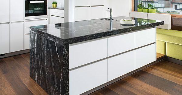 Natursteinarbeitsplatte  - neue küche ikea