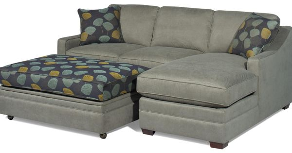 Customizable 2 piece sectional with raf chaise by for Albany saturn sectional sofa chaise