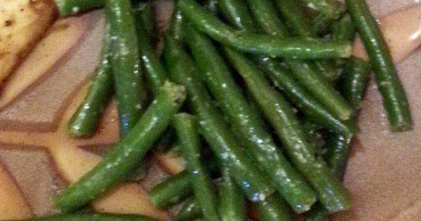 Green Beans   Tasty Sides   Pinterest   Garlic Green Beans, Green ...