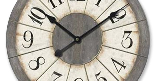 "Oversized 30.5"" Felix Wall Clock"