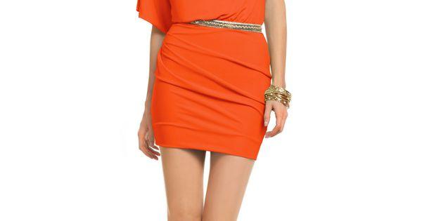 Sun Orange Dress