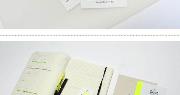 Word. by Passport, via Behance | stationary corporate design corporatedesign identity branding