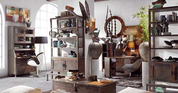 Furniture industrial hall room - Salon toro calvet ...