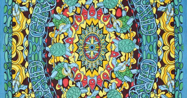 Grateful+Dead+Terrapin+Dance+Tapestry+-+Hanging+Wall+Art+ ...