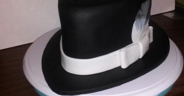 gangster wedding cake toppers gangster hat made out of rice krispy cake topper my 14643