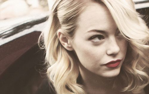 Emma Stone's hair style. Obsessed