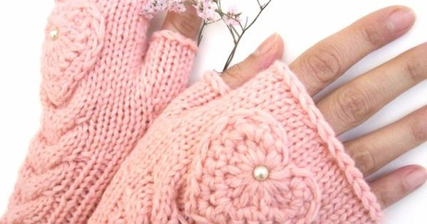PINK heart hand warmers....