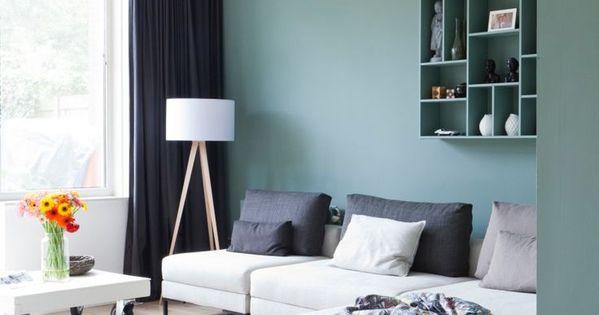 Comment choisir le bon vert pour ses murs turquoise - Choisir la couleur de ses murs ...