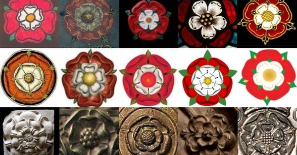 Painting a tudor rose on a canvas as a home decor item for The miroir or glasse of the synneful soul