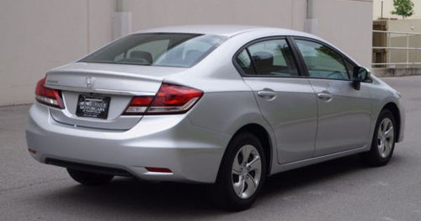 Similiar 2014 Honda Civic Lx 4 Door Silver Keywords Honda Civic 2014 Civic Lx Honda Civic