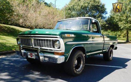 1970 Ford F 100 Pickup Truck Vintage Classic 1970s Trucks For Sale 1970 Chevy Ford Truck And More 1970strucks Cars Trucks Pickup Trucks Classic Trucks