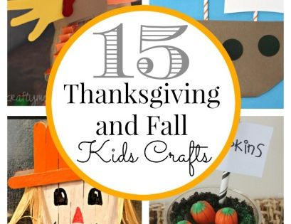 15 Thanksgiving Kids Crafts | Classy Clutter