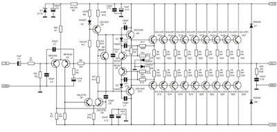 1000 Watt Amplifier Apex 2sc5200 2sa1943 With Images Audio Amplifier Circuit Diagram Amplifier