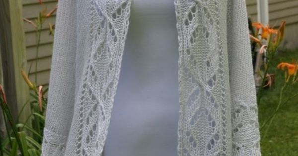 Quatrefoil Knitting Pattern : All Knitted Lace: Pattern Release: Lucky Quatrefoil Shawl Yarn Arts Pinte...