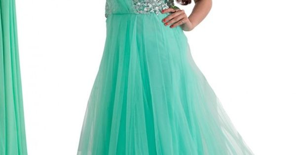 Appearance with beautiful sea green color net western anarkali dress